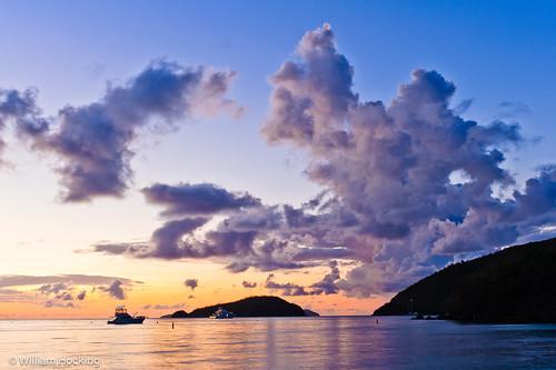 sky usa stjohn locations sunsetsunrise usvirginislands sceniclandscape malobay