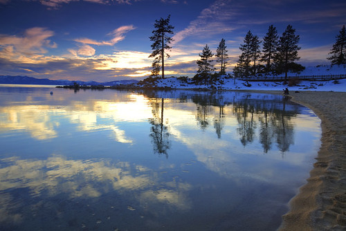 Sand Harbor Evening - Lake Tahoe, Nevada, USA