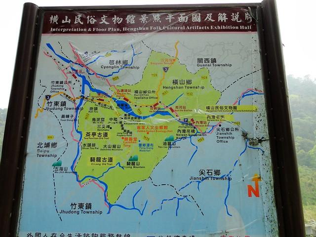 横山民俗文物馆景点地图
