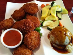 meal, fried food, food, dish, cuisine, fast food, falafel,