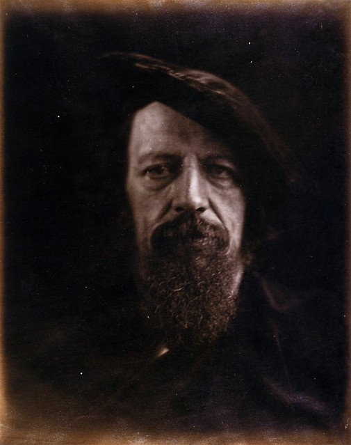 Alfred Tennyson, 1866, by Julia Margaret Cameron