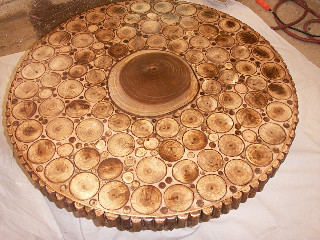 Elm Round Coffee Table