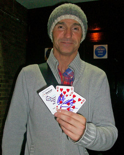 Marti Pellow supporting GOSH in Tunbridge Wells