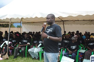 Gerald Kato Alliance Uganda addressing the congregation in Mityana KC Sharifah Nabukenya