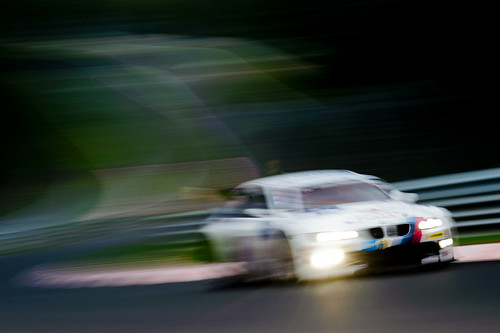 24H Nurburgring 2011 - BMW M3 GTR test shot