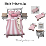 Blush Bed Set 3D Models