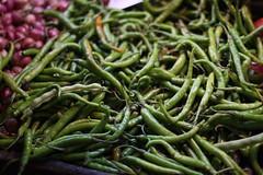 plant(0.0), green bean(0.0), common bean(0.0), crop(0.0), vegetable(1.0), bird's eye chili(1.0), produce(1.0), fruit(1.0), food(1.0),
