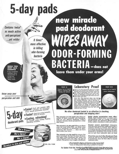 5 day Deodorant Pads 19500619 Life Flickr Photo Sharing