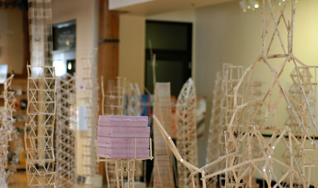 Popsicle Stick Architecture Flickr Photo Sharing