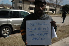 Scott Walker-- You work for us!!
