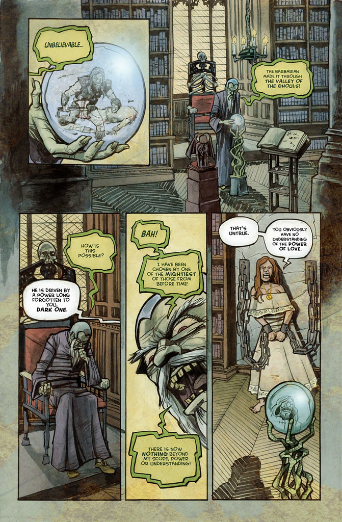 Frozen page 2 illustrated by Anthony Peruzzo