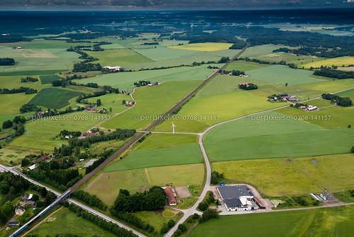 sweden swe västragötaland vårgårda flygfoto