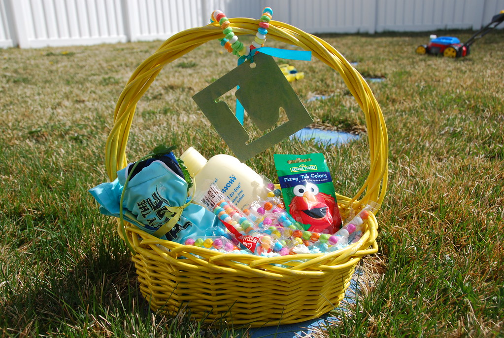 Elmo Easter Basket