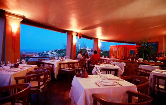 Orange Beach Restaurant, Porto Cervo, Olbia-Tempio, Sardinia, Italy