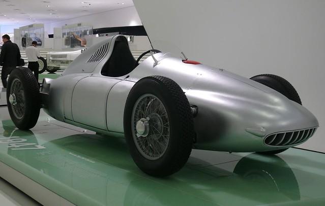 Porsche Typ 360 Cisitalia silver 1947 vr