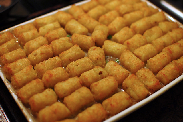 Homemade Tater Tot Casserole | Flickr - Photo Sharing!