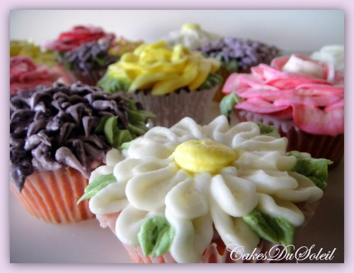 Spring and Flowers and Cupcakes