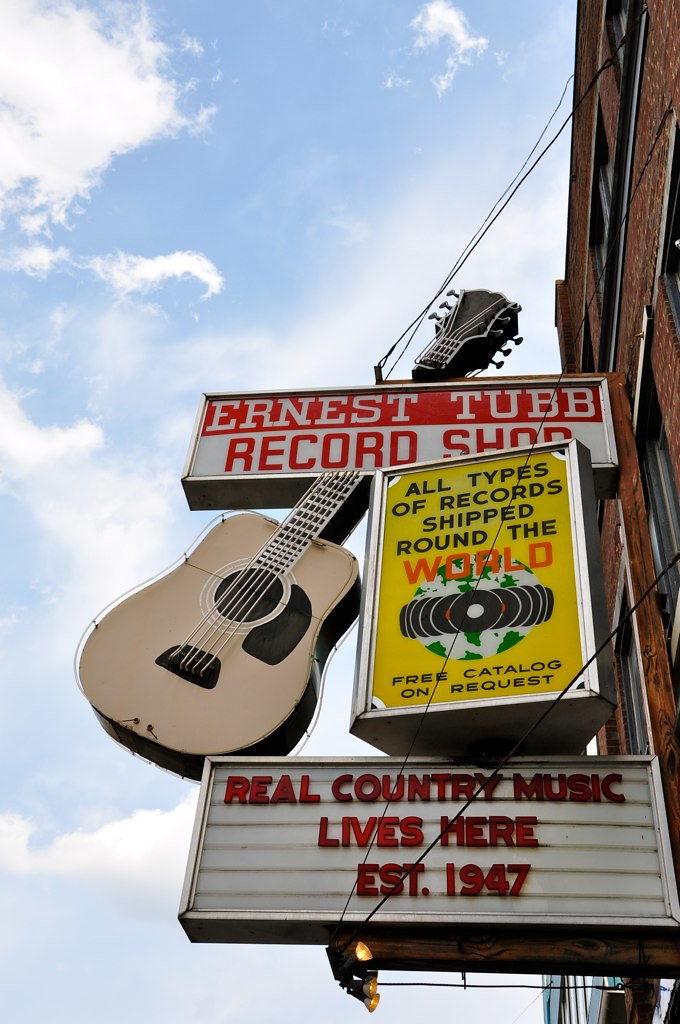 Ernest Tubb Record Shop Nashville TN