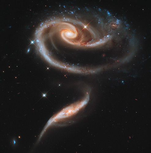 Interacting Galaxies Arp 273