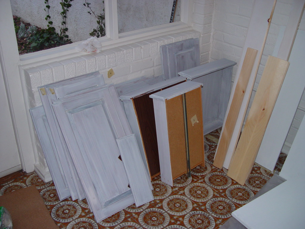 Inexpensive Kitchen Makeover Transforming Cabinets With Paint Old Town Home