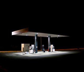 Gas Station, Schärding, April 2011