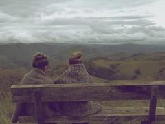 Birte & Puk @ Logwaja Viewpoint