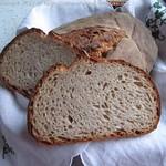 Weizenbrot mit Weizensauerteig & Weizenvollkornmehl