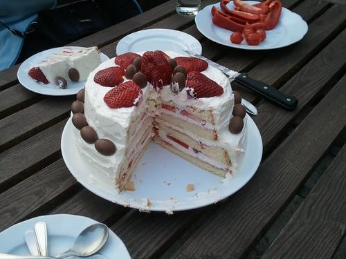 jahodovy dort