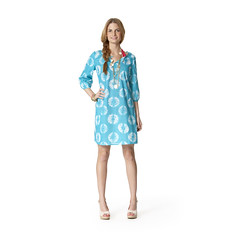 pattern, day dress, textile, clothing, sleeve, turquoise, outerwear, design, dress, adult,
