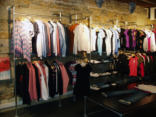 Commercial Clothing Racks