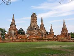 Wat Chai Watanaram in Ayutthaya, Thailand