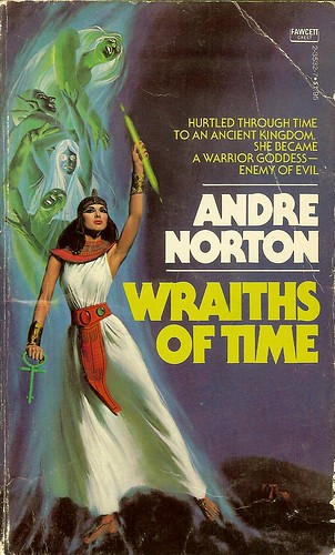 Wraiths of Time - Andre Norton - cover artist M Kane