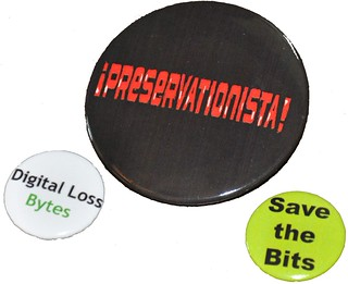 Digital preservation buttons