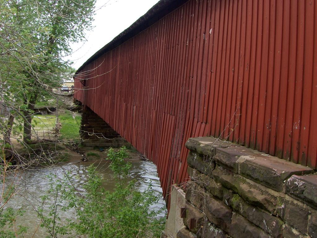 Conleys Ford Covered Bridge Indiana Tripcarta