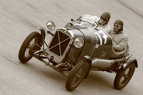 Salmson racing car