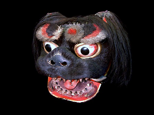 Japanese Shishi Mask