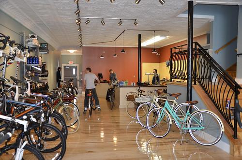 Swerve Bike Shop in Oberlin