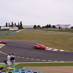 Historic racing cars at the circuit de Nevers Magny-Cours