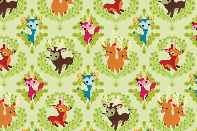 Unidentified Animals Pattern