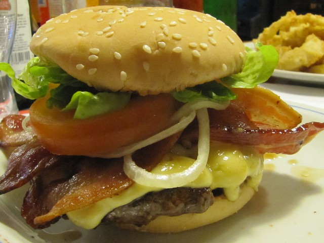 Bacon Cheeseburger @ The Embers Snack Bar | Flickr - Photo Sharing!