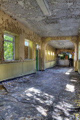 Derelict Corridors of High Royds