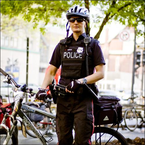 Bike to Work Day  -  Bike Cop