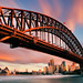 Sydney Harbour Bridge by Sunset