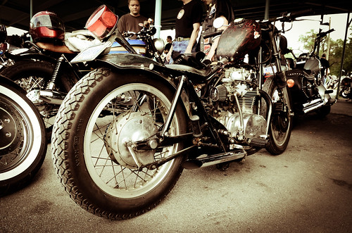 Vintage Bike Night @ The Steer Inn