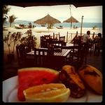 Breakfast with a view - Zanzibar, Tanzania