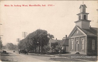 Methodist Church. Postmark 1918.