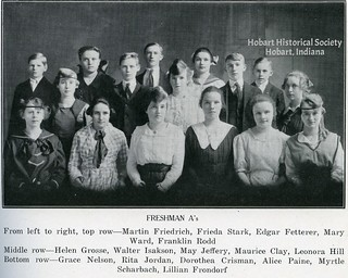 Nelson, Paine, 1918 yearbook.