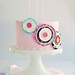 Paper Craft Sugar Posy Cake by chelstastic