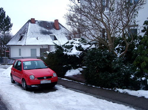 snow car pixelated licenceplate