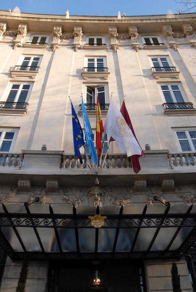 Ritz Madrid, Entrance
